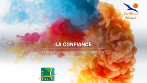 Page de titre de l'intervention de Gilles Serpry sur la Confiance