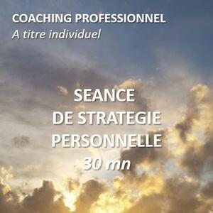 Séance de stratégie personnelle - 30 minutes